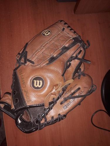 Guante de beisbol marca wilson modelo a500 derecho