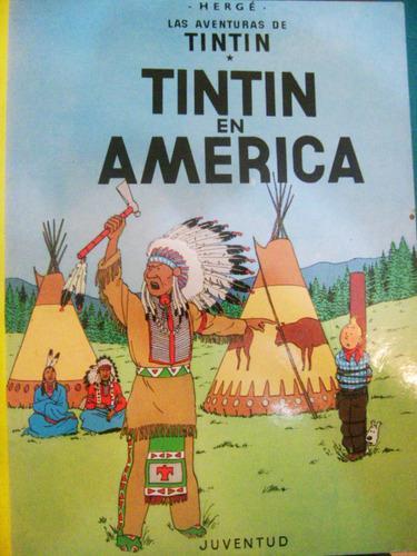 Historieta De Tintin En America