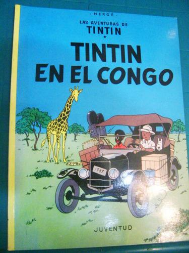 Historieta De Tintin En El Congo