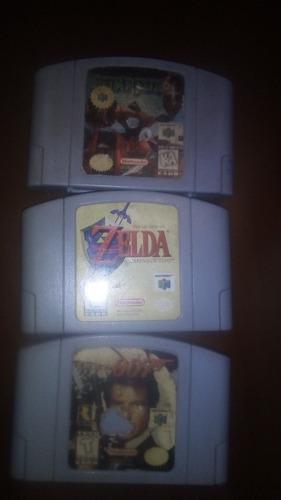 Paquete de 3 de los mejores juegos de nintendo 64!!!