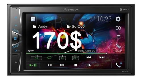 Reproductor Pantalla Pioneer G215bt Usb Bluetooth 250 Verdes