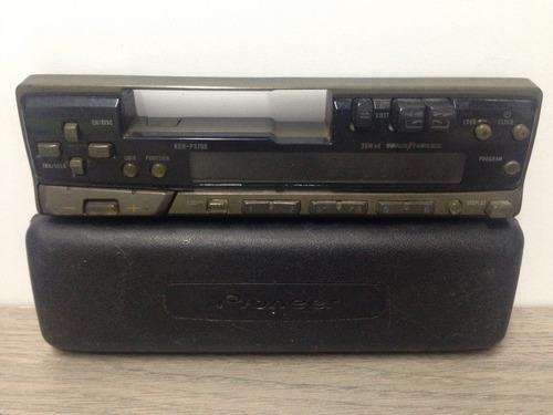 Solo Frontral Radio Reproductor Casette Pioneer Super Tuner3