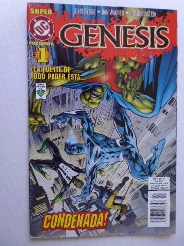 Super dc presenta genesis nro. 1 en español comic en