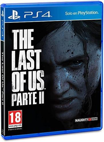 The last of us parte 2 físico nuevo sellado preventa ps4