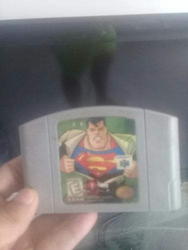 Video juego de superman 64 de n64
