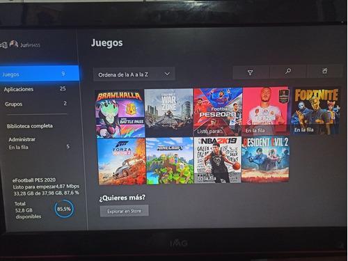 Xbox One 500gb Con 20 Juegos Incluidos