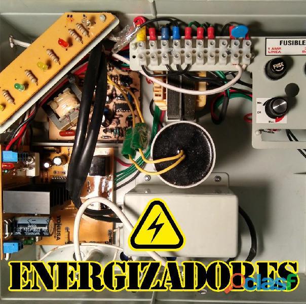 Energizadores cerco eléctrico