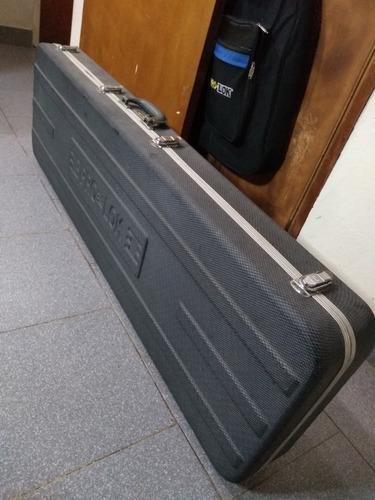 60 usa hard case estuche rígido para bajo pro lok