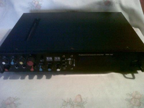 Amplificador de sonido y cajón