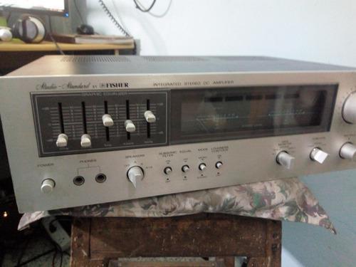 Amplificador Fischer Vintage Perfecto Estado Original