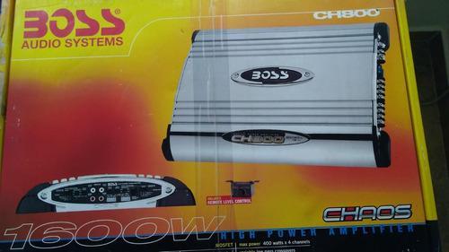 Boss amplificador ch800 1600 w
