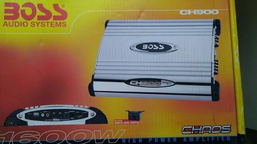 Boss amplificador ch900 1600 w