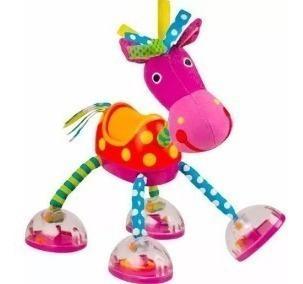 Caballito con sonido sassy caballo juguete sonajero niños