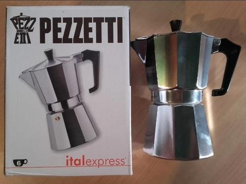 Cafetera greca pezzetti de 6 tazas