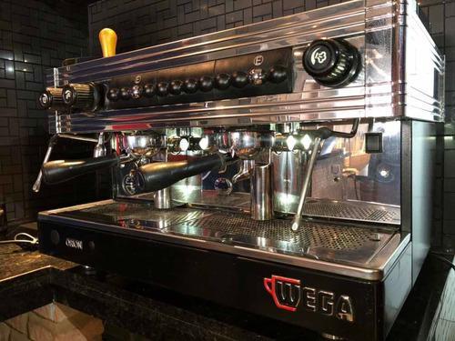 Cafetera industrial wega