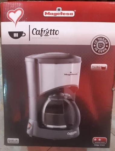 Cafetera magefesa 12 tazas
