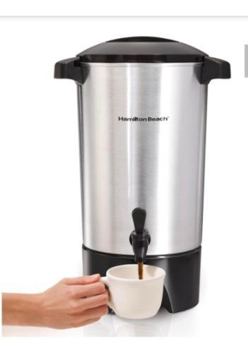 Cafetera tetera termo cafe grande 42 tazas industrial