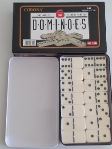 Domino corona estuche metal 12mm