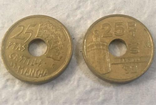 España 25 pesetas 1992 expo sevilla 92 torre de oro