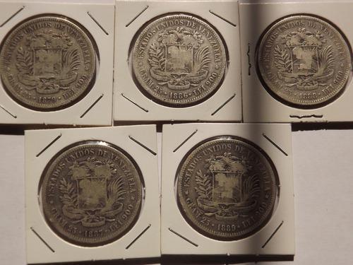 Excelente colección 22 monedas de plata. fuerte 5