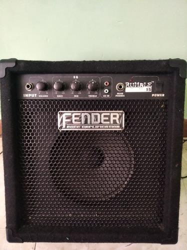 Fender rumble para bajo leer descripción.