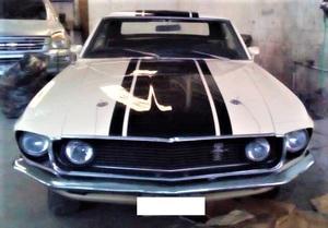 Ford mustang 1969, manual