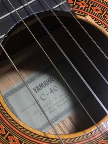 Guitarra acústica yamaha c 40