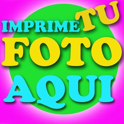 Impresión fotos 8x10 profesional consultarprecio