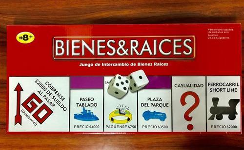 Juego bienes y raices (tipo monopolio)