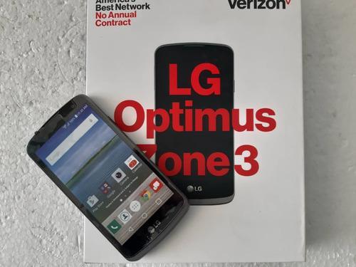 Lg optimus impecable 4 meses de uso
