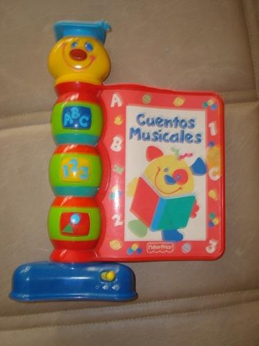 Libro musical para bebe fisher price