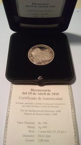 Moneda 200 bicentenario rara y escasa