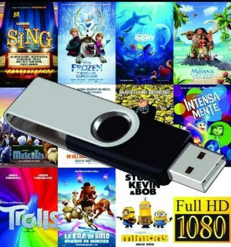 Peliculas digitales full hd y series de tv, pendrive