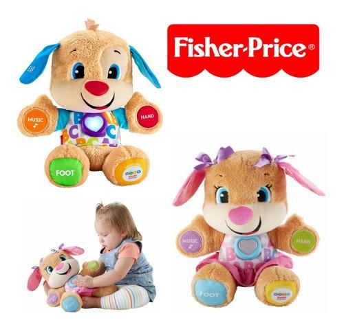 Peluche fisher price perrito musical de aprendizaje (35$)