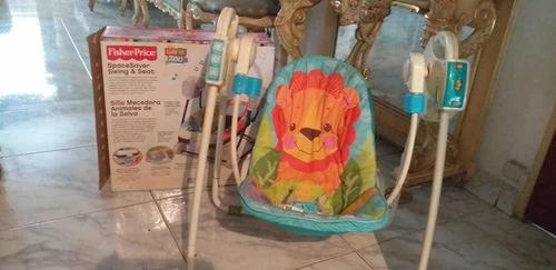 Silla bebe columpio fisher price