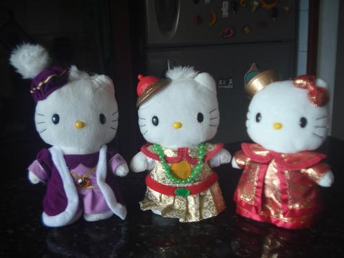Trio peluches hello kitty coleccion mc donals