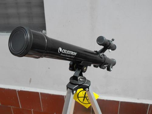 Vendo telescopio celestron de 40 mm powerseeker. como nuevo.