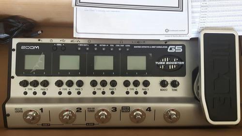 Zoom g5 pedal efectos