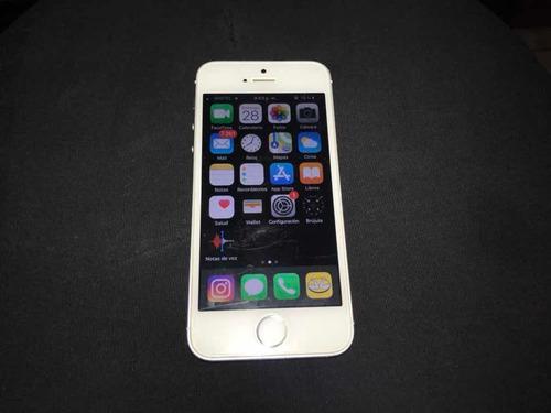 Iphone 5s 16gb liberado color blanco