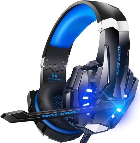 Auriculares estéreo para videojuegos para ps4, pc, xbox one