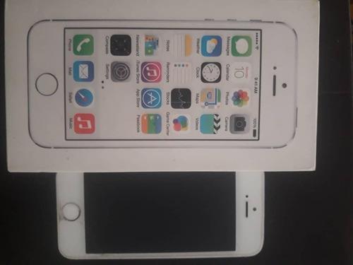 Celular iphone 5s de 16gb blanco liberado