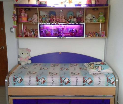 Juego cuarto o dormitorio cama duplex