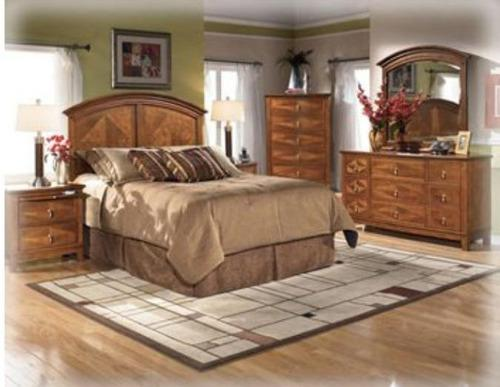 Juego de cuarto king size 2x2. ashley forniture