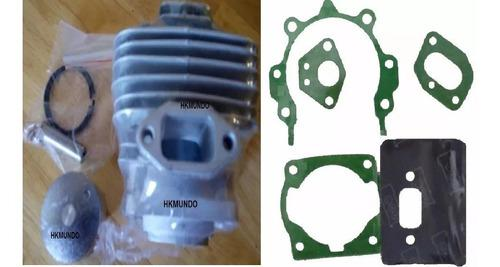 Kit cilindro completo 43cc + empacaduras desmalezadora