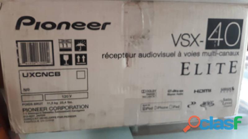 Receptor marca pioneer 7.1 canales