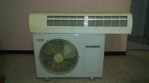 Aire acondicionado hyundai 18mil btu luz 220 para reparar