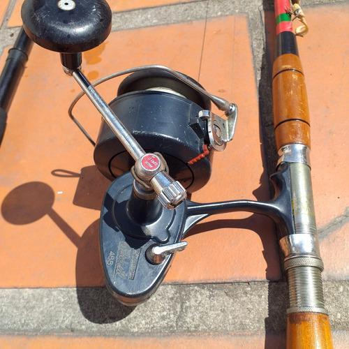 Carrete de pesca mitchell 488 alta velocidad