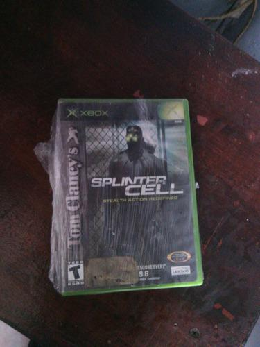 Juegos para xbox original splinter cell