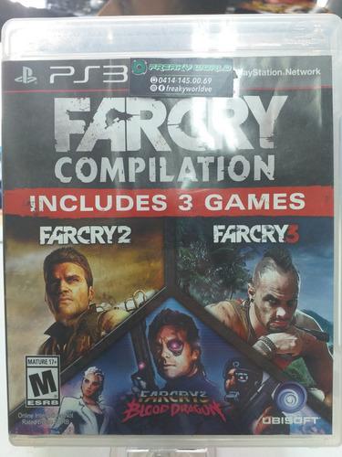 Juegos ps3 original far cry compilation somos tienda fisica