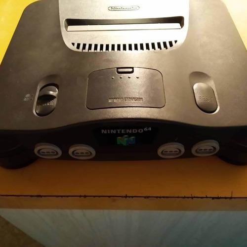 Nintendo 64 en perfecto estado solo consola y sus cables